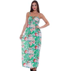 62d0115083 Vestido Longo E Florido Outros Tipos Longos Feminino - Vestidos ...