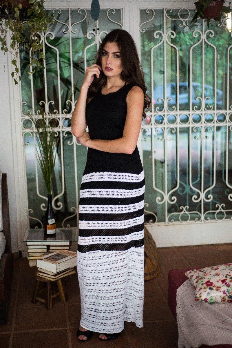 6fd2d2b3bda3 vestido longo trico tricot blogueira 2017 luxo black friday. Carregando  zoom.
