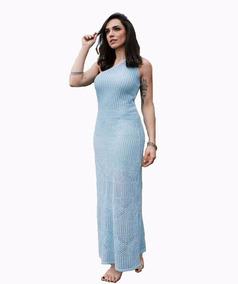 b865b5f1bf Vestido De La Longo - Vestidos Longos Rosa claro no Mercado Livre Brasil