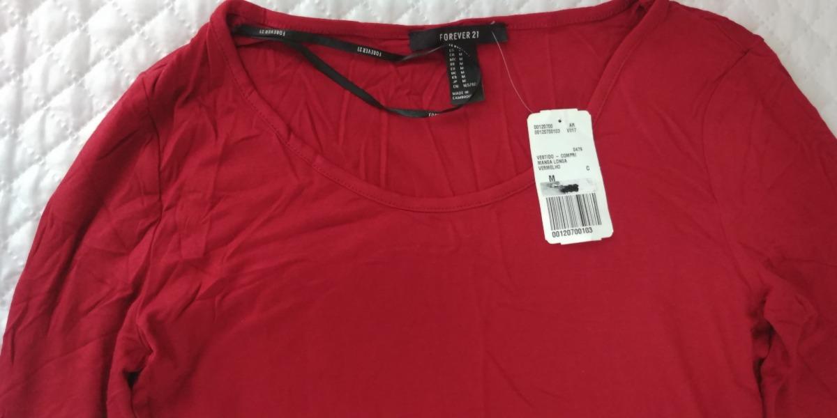 b1b7c6074 Vestido Longo Vermelho Manga Longa - R$ 35,00 em Mercado Livre