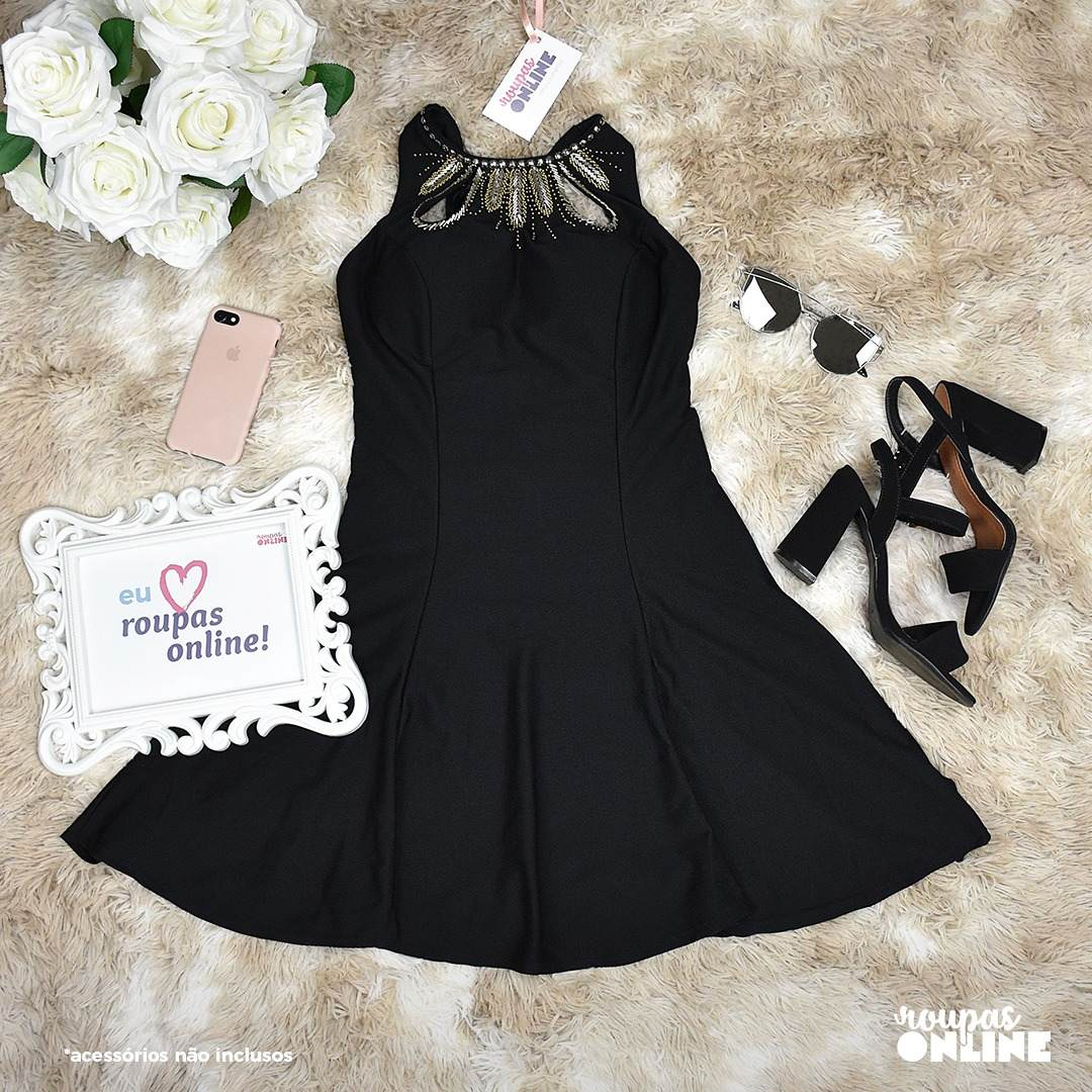 cc02ad382 Vestido Lume - R$ 129,90 em Mercado Livre
