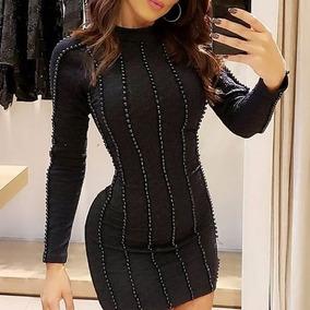 60f34bf29 Vestido Luxo De Perolas - Vestidos Femininas no Mercado Livre Brasil