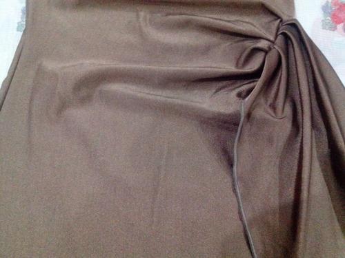 vestido lycra strapless