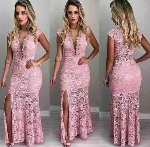 01ac159bd2f6 Vestido Madrinha Casamento Civil Formaturas Promocao #lv9 - R$ 139 ...