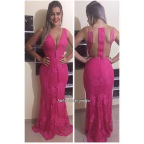 b3829fdde Vestido Madrinha Pink Sereia - Vestidos Longos Femininas no Mercado Livre  Brasil