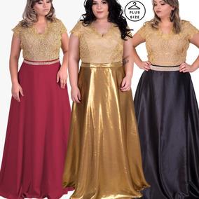 a6a37adfca Vestido Longo De Festa Maravilhoso Luxo - Vestidos Femininos De Festa  Longos no Mercado Livre Brasil