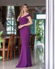 90c493304f Vestido Madrinha Roxo - Vestidos Longos Femininas no Mercado Livre ...