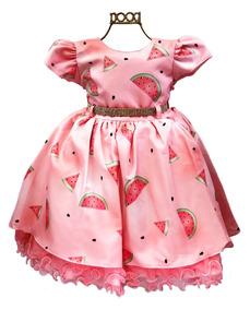 d84824426ca6 Vestido Melancia - Calçados, Roupas e Bolsas com o Melhores Preços no  Mercado Livre Brasil
