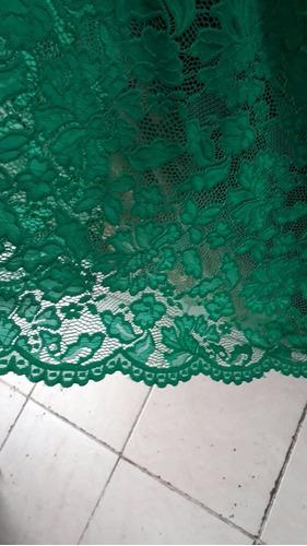 vestido maitê em renda com fenda(festa, casamento, madrinha)