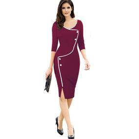 8b6dbbec1b17 Vestidos Femininos Para Trabalho - Calçados, Roupas e Bolsas com o ...