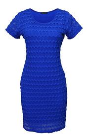 Bfn Vestido Azul Rey Cola Vestidos Casuales Mujer Ropa