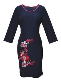 Largos Vestidos Mujer Corto Oscuro Azul De Lolitas NO8mn0vw