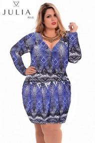 19ca777f5 Posthaus Vestidos Plus Size - Vestidos Femininas Azul em Sorocaba no ...
