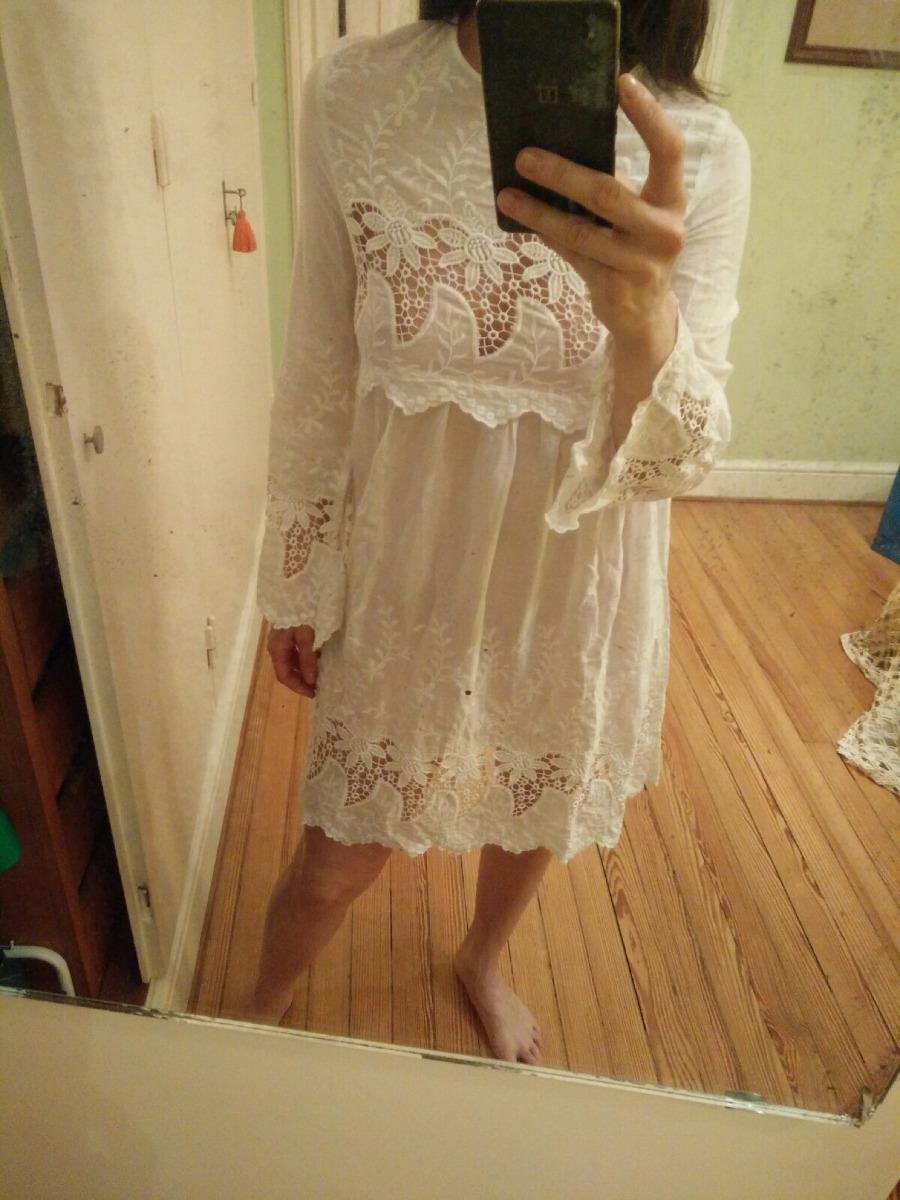 Vestidos mango color blanco