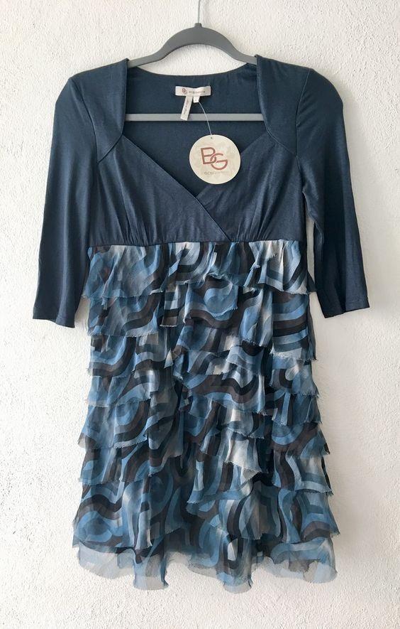 bec4d92837 vestido marca bcbg talla 4 extrachica modelo sweetheart tide. Cargando zoom.