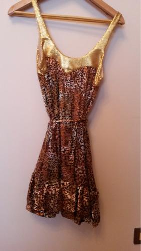 vestido marca salsipuedes nuevo!