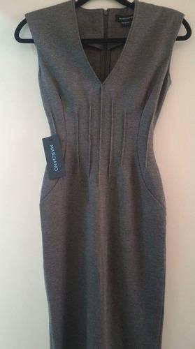vestido marciano by guess color gris en liquidacion