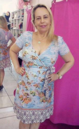 vestido maria antônia evasê floral
