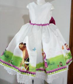 Vestido Masha Tallas Desde 3 Meses A 5 Años