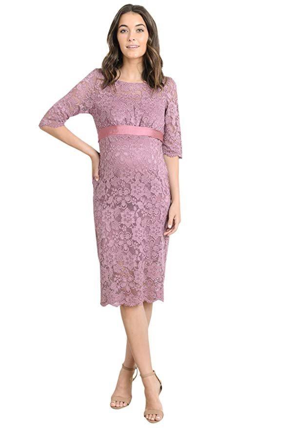 6bfd5d9fe vestido maternidad encaje floral color malva marca hello miz. Cargando zoom.