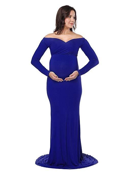 Vestido azul rey para mujer