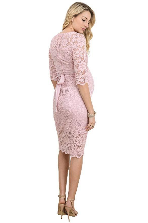 cc3ab1efa vestido maternidad rosa encaje floral baby shower hello miz. Cargando zoom.