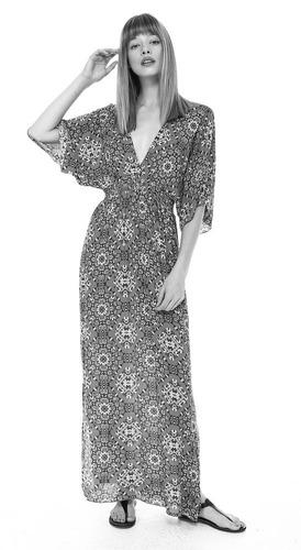 vestido maxi escote espalada y frente