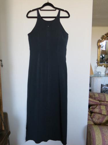 vestido maxi negro