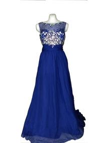 Imagenes de vestidos para graduacion azul rey