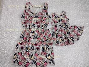 c756804d2b Vestido Minnie 1 Ano Mae E Filha - Calçados