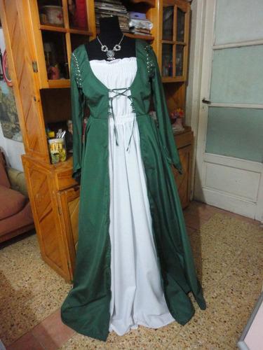 vestido medieval gotico romantico a medida