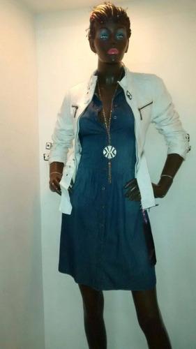 vestido mezclilla dama importado 7