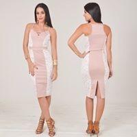 dd073f2bcb Vestido Midi Bengaline Detalhe Renda Rdlay Elegante Promoção - R ...