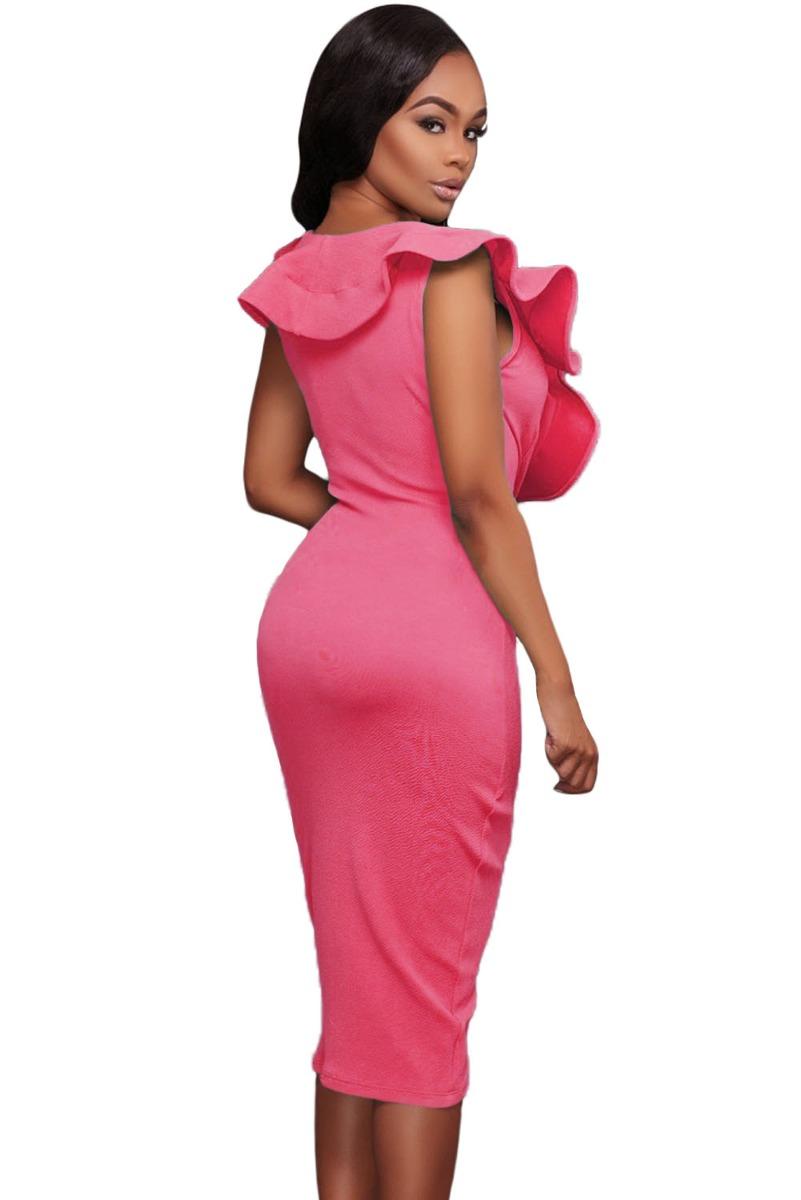 Encantador Naranja Vestido De Dama Galería - Colección del Vestido ...