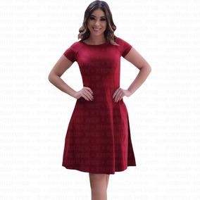 1a09dfa1c Vestido Midi Bengaline - Vestidos Femeninos com o Melhores Preços no  Mercado Livre Brasil