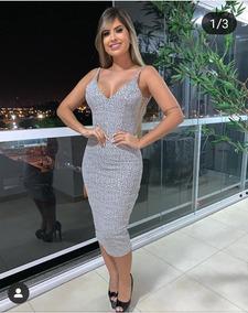 0f16779f52c3 Vestido Tule Transparente - Vestidos Femeninos com o Melhores Preços no  Mercado Livre Brasil