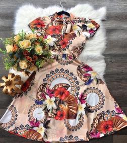 473e4481a Vestido Midi Flor De Yuan - Vestidos no Mercado Livre Brasil