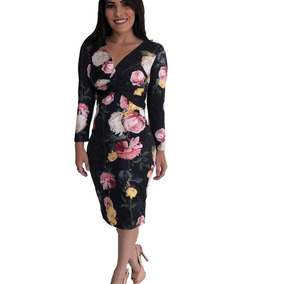 925b81f77 Vestido Decote Profundo Lanca Perfume - Calçados, Roupas e Bolsas no  Mercado Livre Brasil