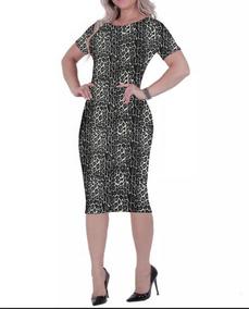 64172abfd2ad Vestido De Onça - Vestidos com o Melhores Preços no Mercado Livre Brasil