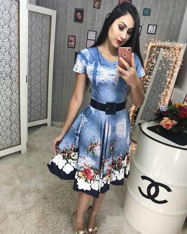 027b0036a394 vestido midi rodado floral moda evangelica social executivo. Carregando  zoom.