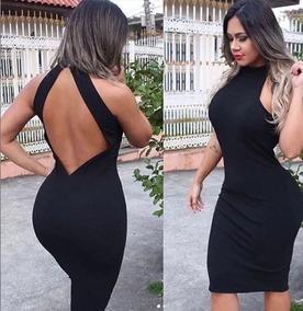 aaedeaeeb833 Vestido Midi Frente Unica - Vestidos Femeninos com o Melhores Preços no  Mercado Livre Brasil