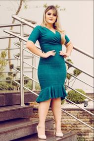651ae5d7e348 Lido - Vestidos Verde-musgo Médio com o Melhores Preços no Mercado ...