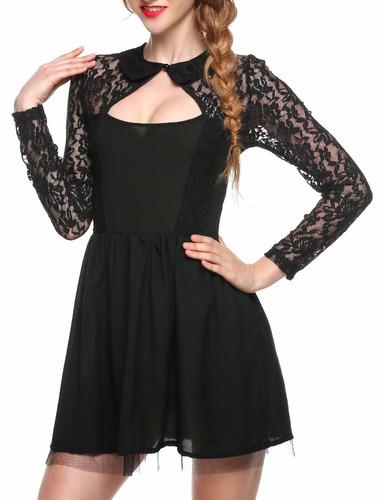 vestido mini casual