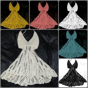 458ec0c58 Vestido Playero Crochet - Vestidos Minis de Mujer en Bs.As. G.B.A. ...