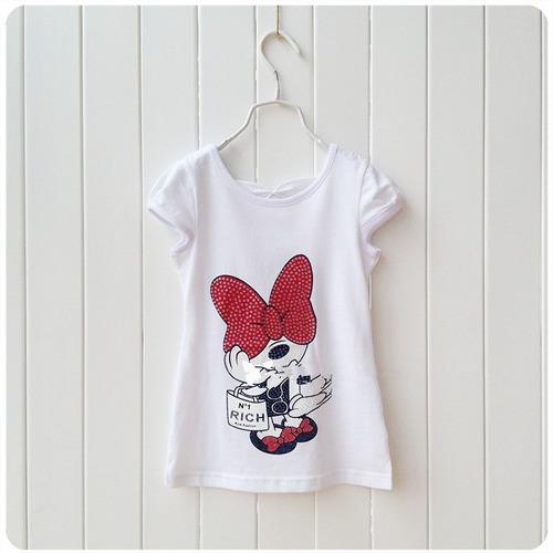 vestido mini mouse para niña
