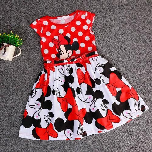 vestido minnie vermelho bolinha festa