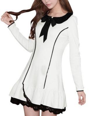 vestido moda asiática japonesa marca allegra k doll