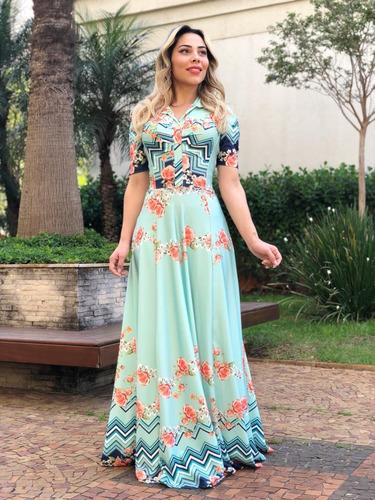 vestido moda evangelica suplex