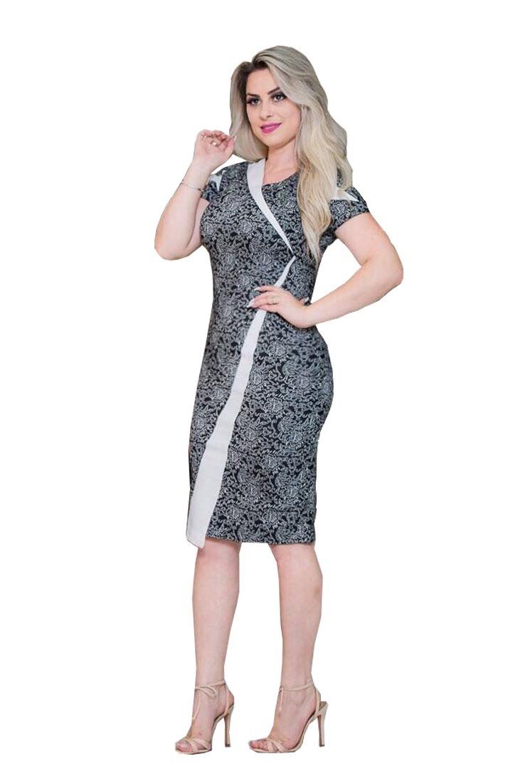 2806d6dbe vestido moda feminino midi executivo festa moda evangélica. Carregando zoom.