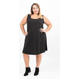 Vestido Modal -mujer-talles Grandes